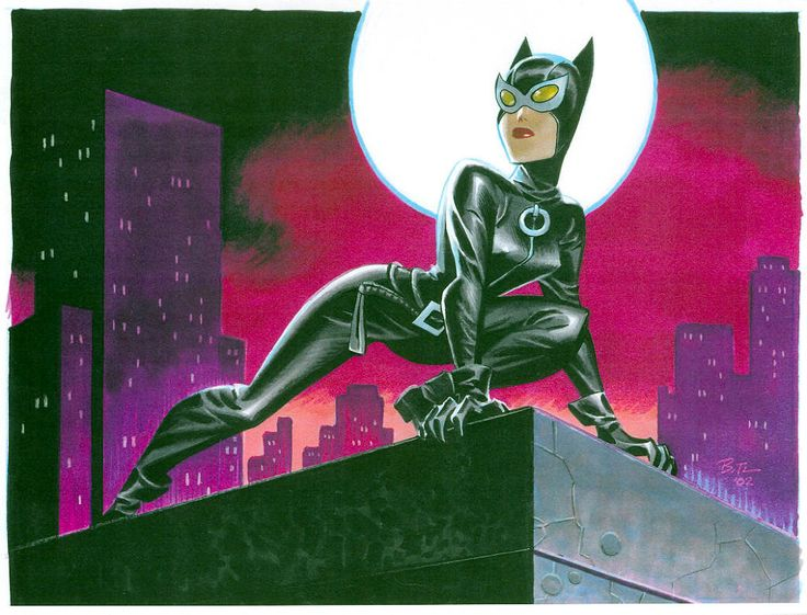 Bruce Timm, Catwoman