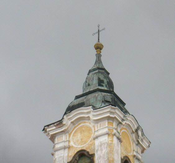 Ferences templom keresztje -  (Géza király tér 12.)