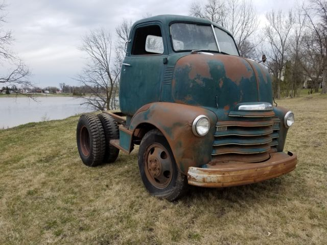 1948 Chevy Coe Cabover Truck Loadmaster Original Patina
