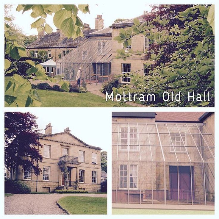 Throwback Thursday presents Mottram Old Hall, residential extension #glass #Architecture #modern