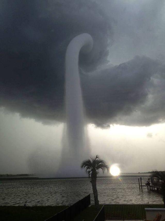 Waterspout, Tampa, Florida