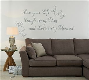 And the PERFECT wall sticker for me!