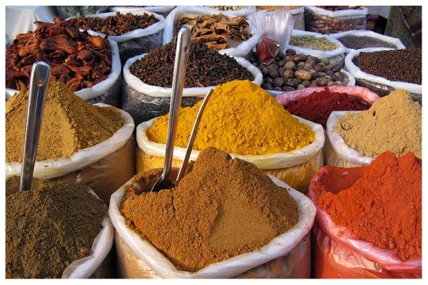 Spices from India