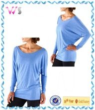 yoga girl loose-fitting top with long dolman sleeves yoga t best buy follow this link http://shopingayo.space