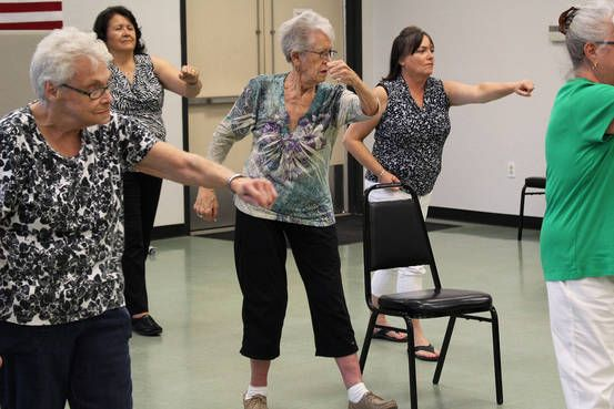 "Seniors with a fear of falling are more at risk of a fall. ""Research on fall prevention suggests the slow and meditative exercise of tai chi, with its disciplined focus on balance, may help lessen apprehension."""
