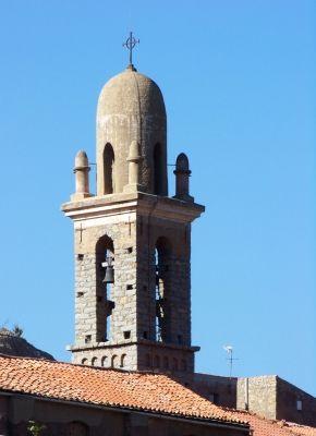 Clocher de l'église de Speloncato