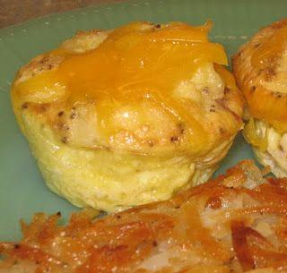 Easy Baked Mini-Omelets