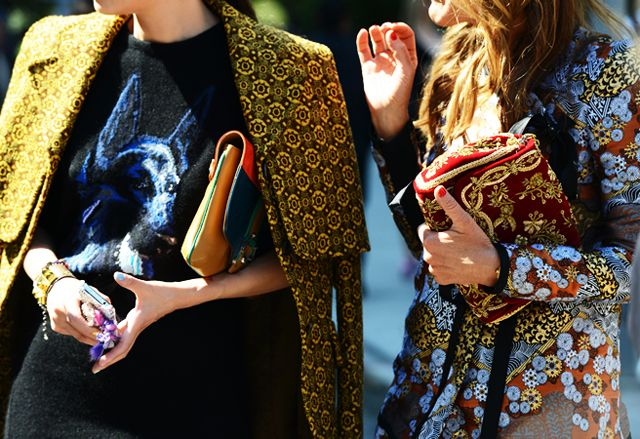 these printed outer garments are fashionable and wearable and amazing...