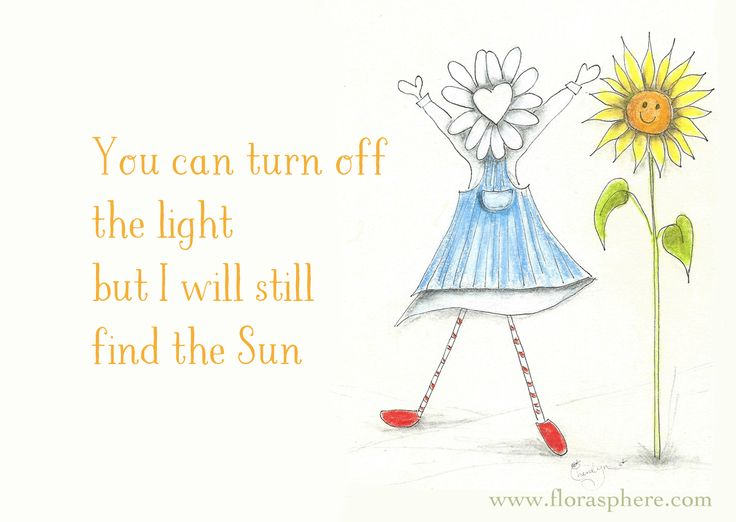 I have been feeling a little overshadowed by events of late and I'm reminding myself to just find that Sun in my day!