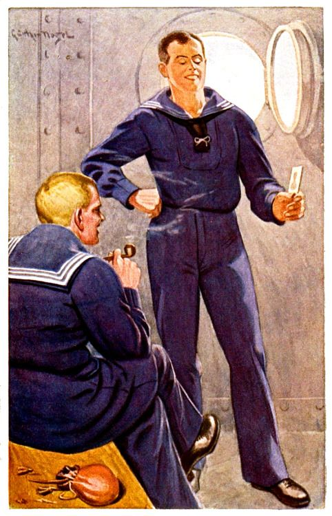 """""""Sailors"""" by Gunther Nagel, 1910"""