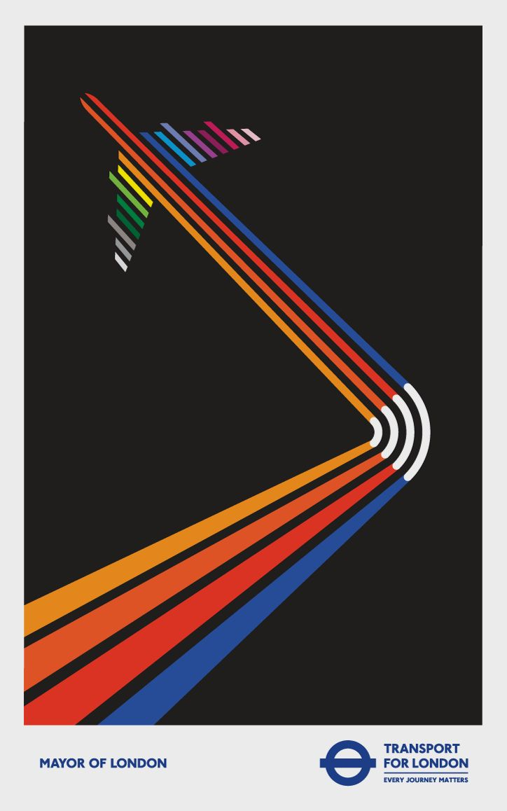 Poster design ks1 - Rob Bailey Talks Through Creating Over 40 Posters For London Underground