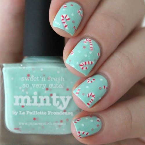 Best 25 cute christmas nails ideas on pinterest xmas nail cute christmas nail art designs http prinsesfo Images