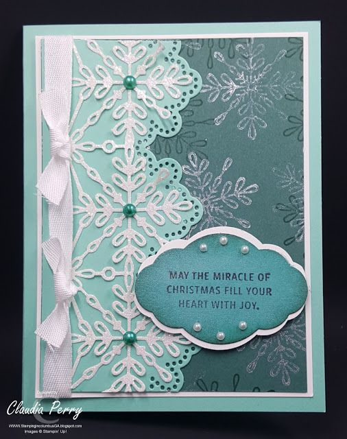 Stamping In Columbus Ga Snowflake Sentiments Cards Snowflakes