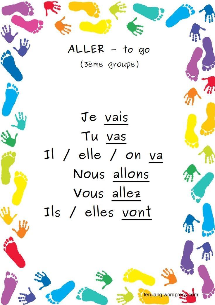 Best 20+ Aller Conjugaison ideas on Pinterest   Aller present ...