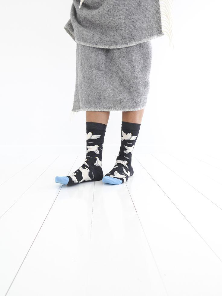 Bonne Maison socks from www.paperplanestore.com