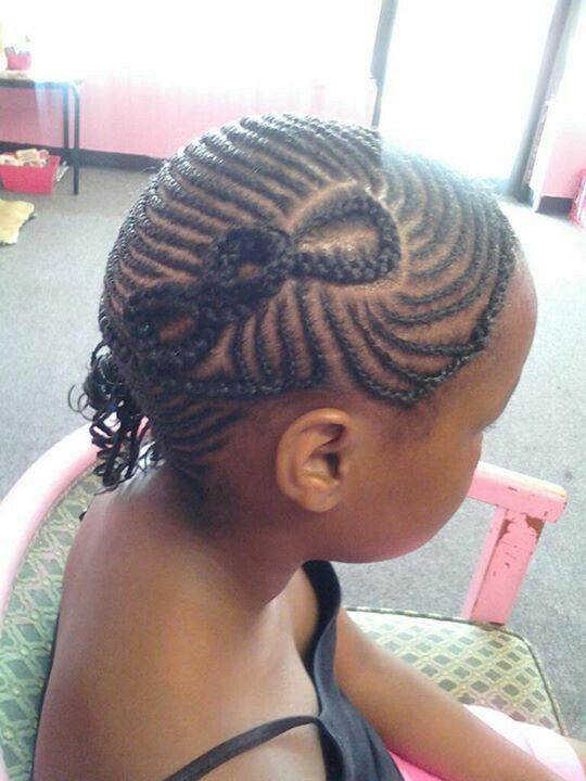 Sensational 1000 Images About Natural Kids Hair Bow Styles On Pinterest Short Hairstyles For Black Women Fulllsitofus