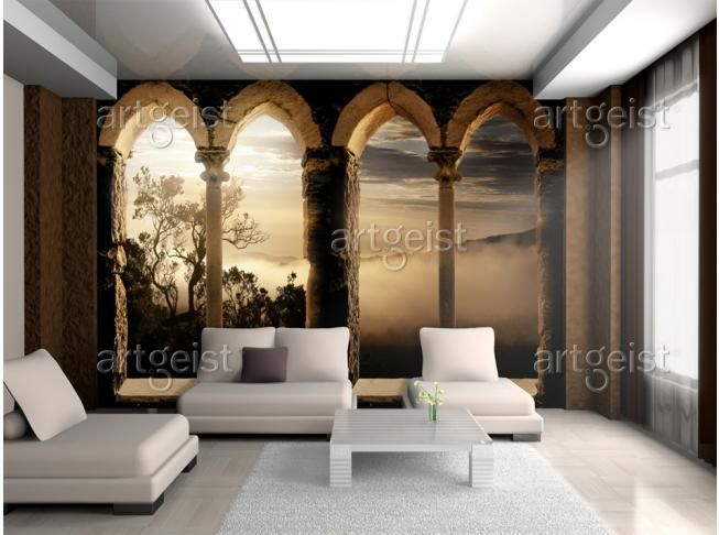 64 besten LED Leuchtwand \/ Leuchtbild \/ Tapeten Bilder auf - holzoptik tapete ideen