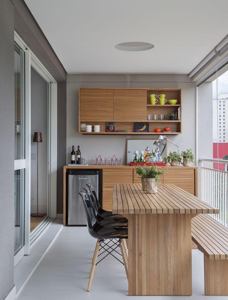 Casa de Valentia; decoração; projeto; apartamento; carioca; varanda gourmet