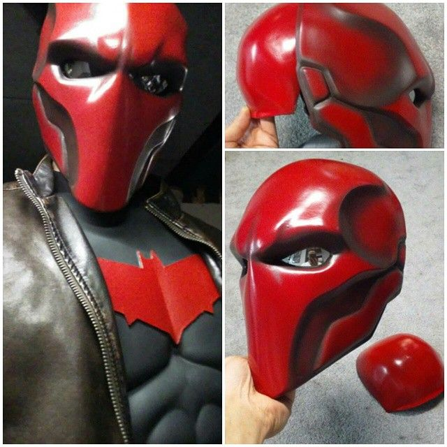Customers Red Hood Repaint by Uratz-Studios on DeviantArt