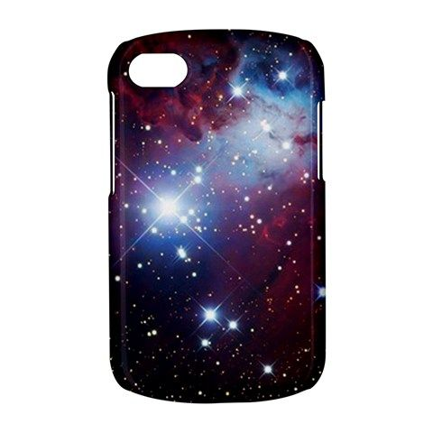 NEW Space Sparkle Star Cone Nebula BB BlackBerry Q10 Q 10 Hardshell Case Cover
