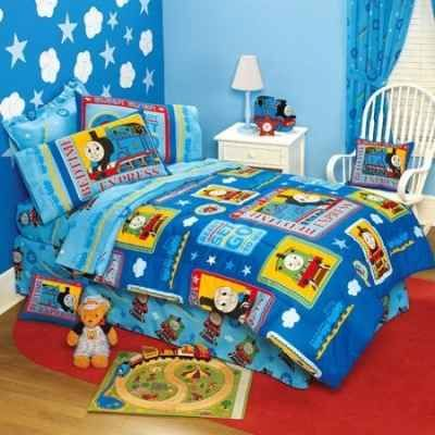 thomas the tank engine room decor | Thomas The Train Bedding and Bedroom Decor Ideas For Kids