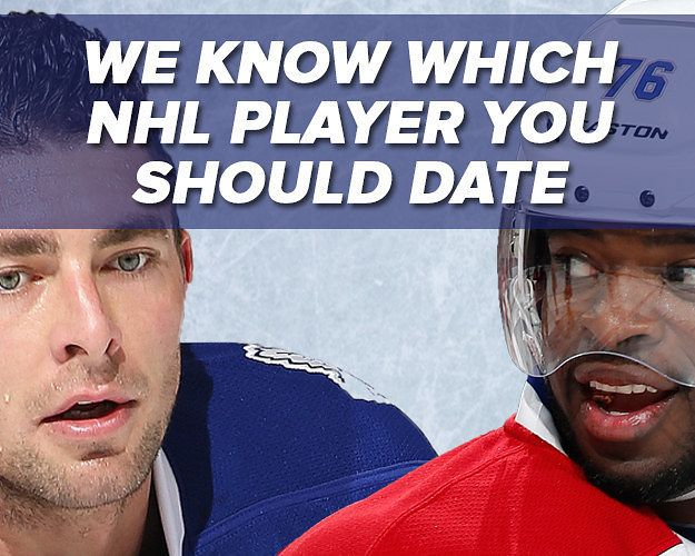 Benefits of dating a hockey player