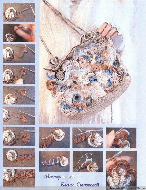 冬季爱尔兰图解-一定要收藏哦 - 花语传情 - 花语☆传情钩织博客