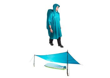 Sea To Summit Ultra-Sil Waterproof Tarp, Shelter, Pack cover & Poncho $99.95