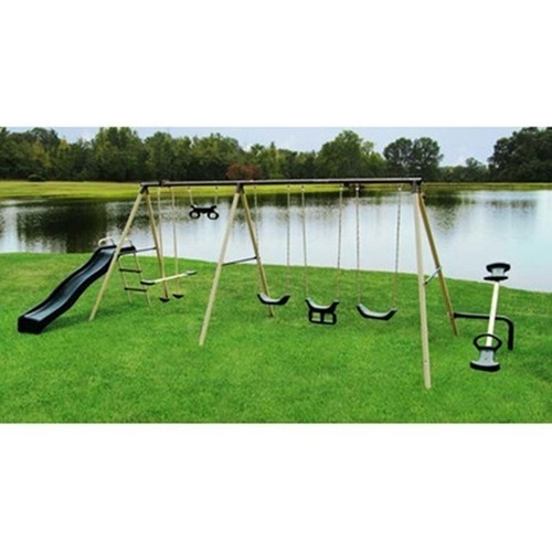Kids Swing Set Outdoor Daycare Equipment Made in USA.  Free Shipping from trusted seller Jodezegifts on Ebay. Check out the other great selections that Jodezegifts has for you.