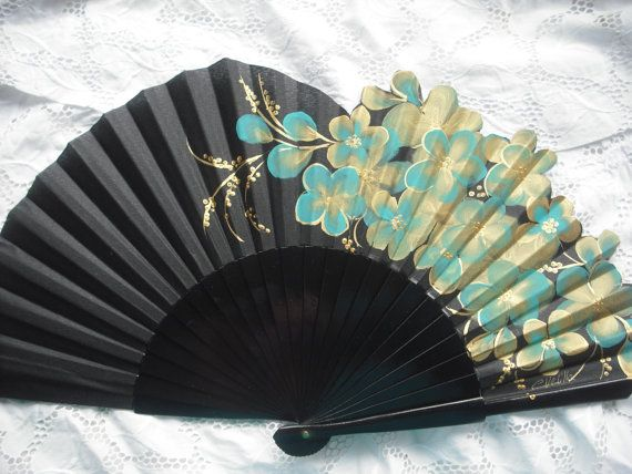 Spanish Hand Fan.