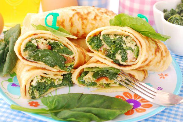 Κρέπες με σπανάκι και κοτόπουλο - Συνταγές Μαγειρικής - Chefoulis