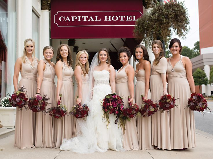 After choosing the Cathedral of St. Andrew and the Capital Hotel for the wedding and reception, Lauren knew her venues called for an opulent and glamorous décor theme.