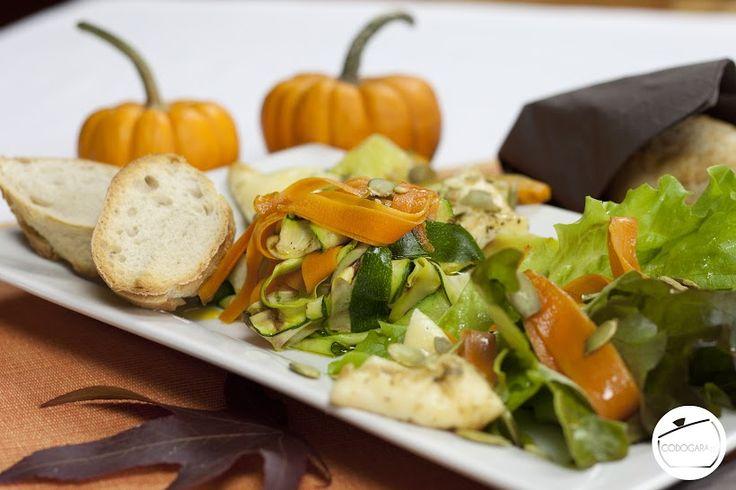 Sałatka z grillowanych warzyw i sera Halloumi | Wegetables & Halloumi Cheese Salad