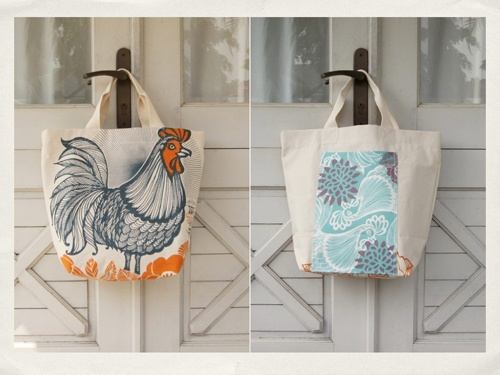 Beach bags from Tulisan.