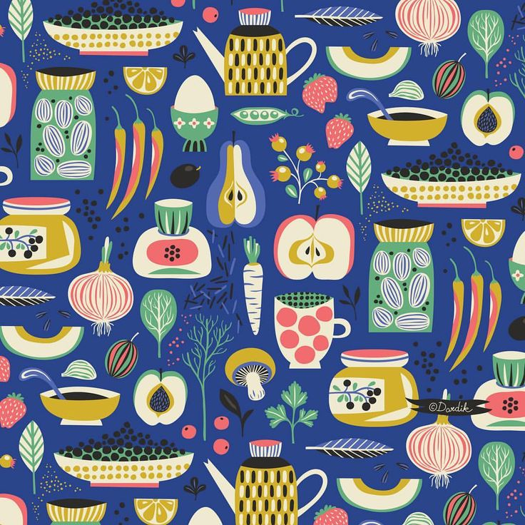Happy Thanksgiving to all my American friends!... #food #thanksgiving #repeat #pattern #surfacedesign #helendardik