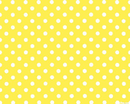 Basic Brights - Circus Dots - Lemon Yellow