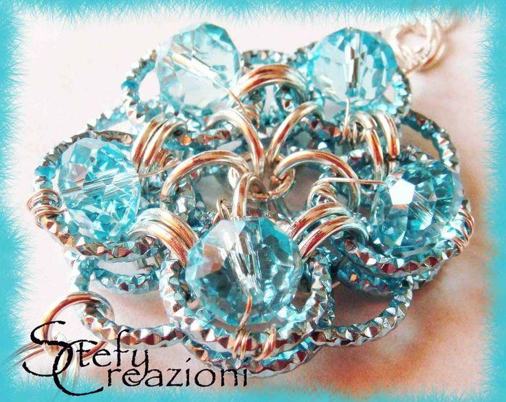 Light Blue Cristal, by Stefy Creazioni, 32,00 € su #misshobby.com