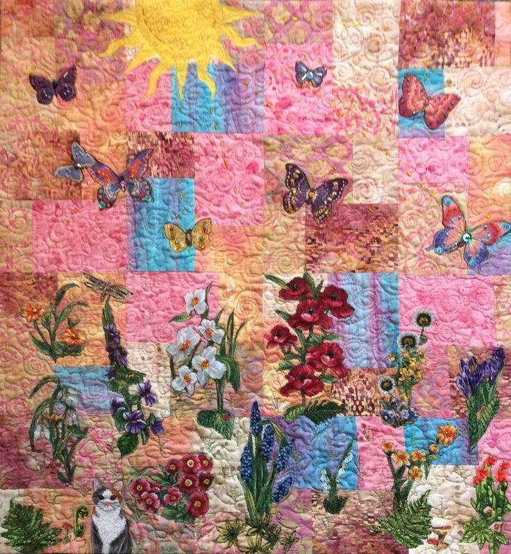 35 Best My Own Fabric Art And Quilts Images On Pinterest