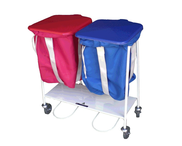 TROLLEY SLINGS - Stops collection bags from overfilling  - Adjustable Height   - Easy to use velcro design   - Can be applied to LSA and most other collection trolleys   - Keeps bag weight manageable
