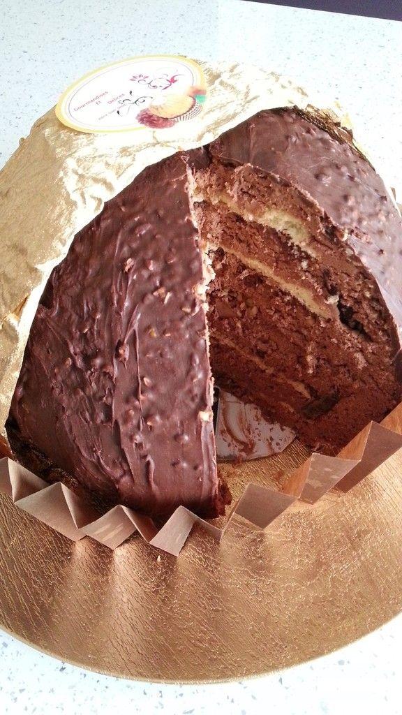 Gâteau Ferrero Rocher                                                                                                                                                                                 Plus