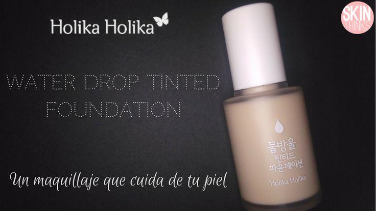 Una base de maquillaje que proporciona una combinación única de color e hidratación.  Proporciona una cobertura media-alta de larga duración que cubre perfectamente imperfecciones como granitos, manchas, rojeces y los poros dilatados. Ayuda a controlar la producción de grasa y ayuda a evitar la formación de imperfecciones. Proporciona un acabado perfecto y fresco. Con protección solar SPF 30 PA ++.  #cosmeticacoreana #skinthinks #holikaholika #foundation #spf30