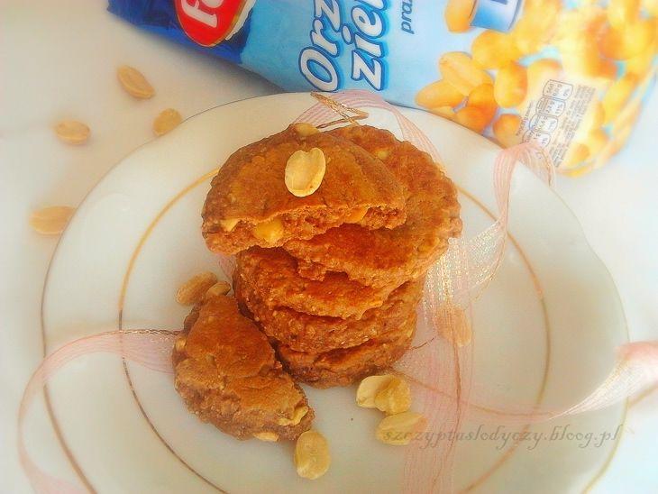 Ciasteczka orzechowo - czekoladowe z patelni PRZEPIS