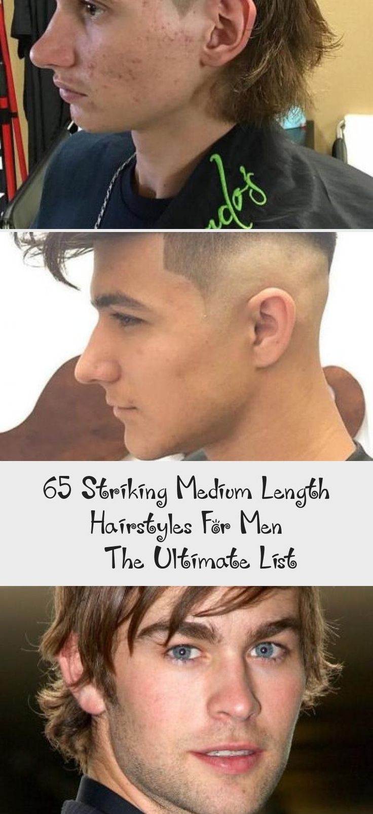 65 Striking Medium Length Hairstyles For Men – The Ultimate List