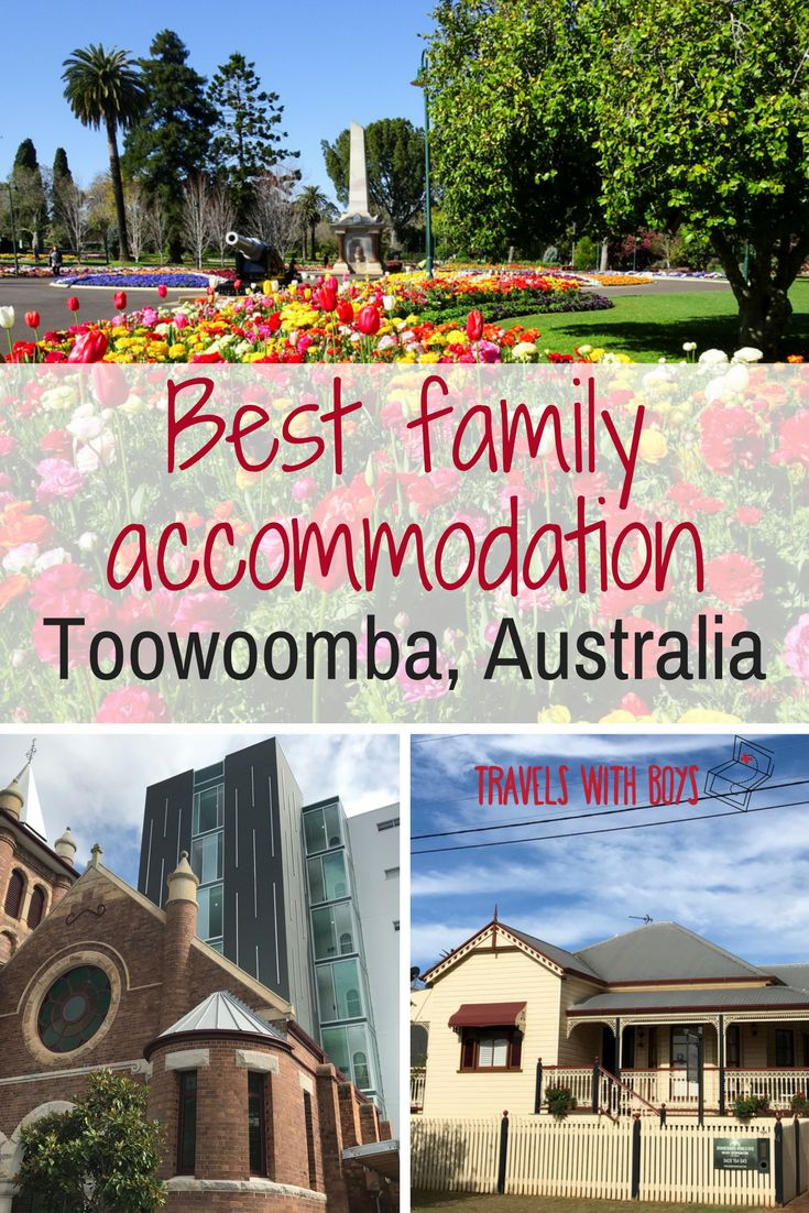 Having lived in Toowoomba, Australia for many years, we know the best accommodation for families. http://travelswithboys.com/revealing-best-family-accommodation-toowoomba/?utm_campaign=coschedule&utm_source=pinterest&utm_medium=Travels%20with%20Boys&utm_content=Revealing%20the%20best%20family%20accommodation%20in%20Toowoomba