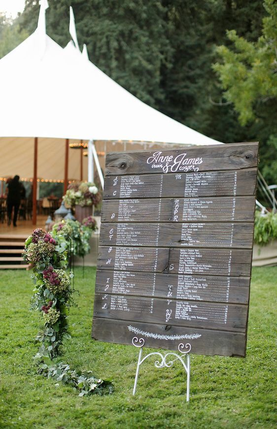Reclaimed Wood Custom Sign. Choose your size. Wedding Welcome or Ceremony Program. Bar Menu. Wine List. Event Timeline by BeeCuriousDesigns on Etsy https://www.etsy.com/listing/198092266/reclaimed-wood-custom-sign-choose-your