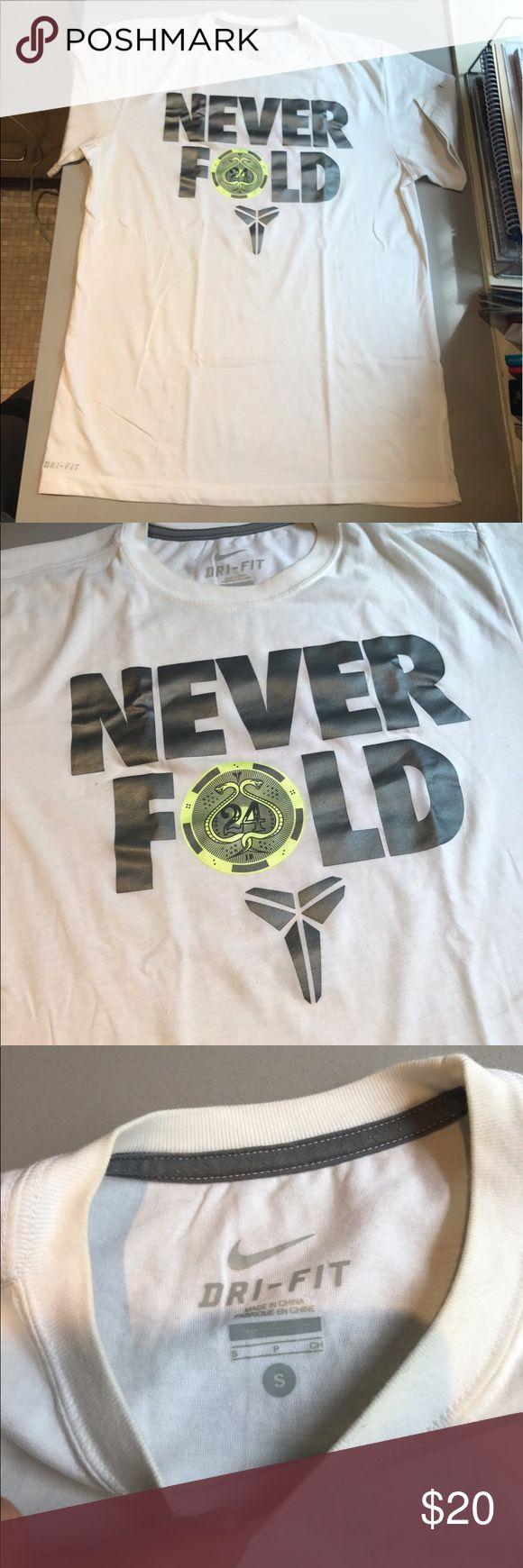 Nike Men's Quote Shirt Never Fold quote shirt. Nike Shirts Tees - Short Sleeve