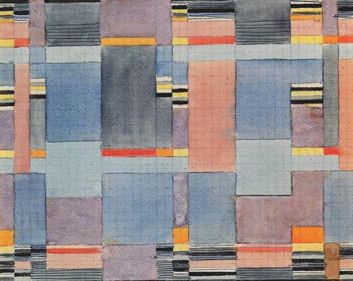 Design For A Double Weave Bauhaus Dessau Cm Cooper Hewitt National Design Museum New York