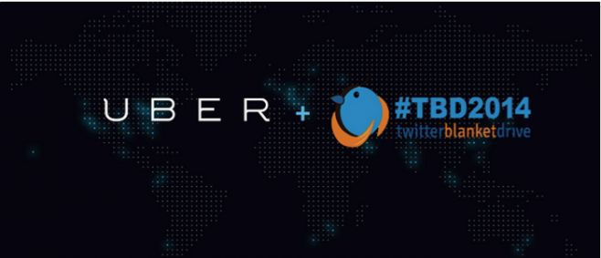 Uber cab service will collect your blanket donations for free in 2014 #TwitterBlanketDrive #TBD2014 @TBDAfrica