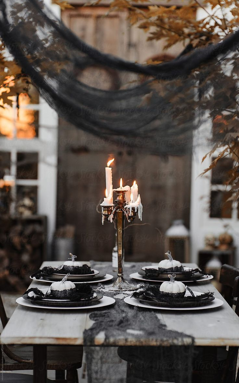 Halloween party by Melanie DeFazio for Stocksy United