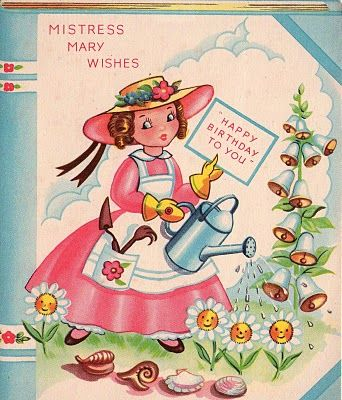 17 Best Images About Vintage Greeting Cards On Pinterest